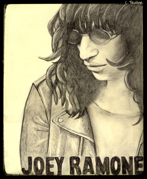 Joey Ramone May 19, 1951 – April 15, 2001 by: C.Trotter