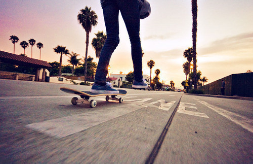 I like this one, skate boarding!!