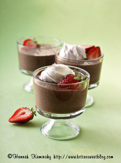 Chocolate Chia Pudding by Bitter-Sweet- on Flickr.YUM!