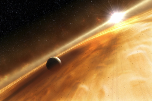 Weird Super-Earths Found Orbiting Neighbor Star The two alien worlds have far-out orbits around the star Fomalhaut, begging the question as to how the heck they got there. keep reading