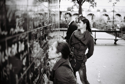 The Wall of I Love U I Montmartre on Flickr.