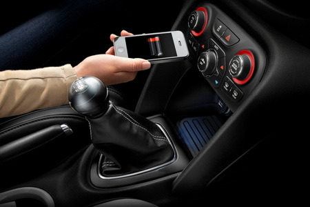 Chrysler Introducing the First Wireless In-vehicle Charging Device  Chrysler Group LLC has announced it would be the first automaker to remove power cords in its vehicles by offering in-vehicle wireless charging.