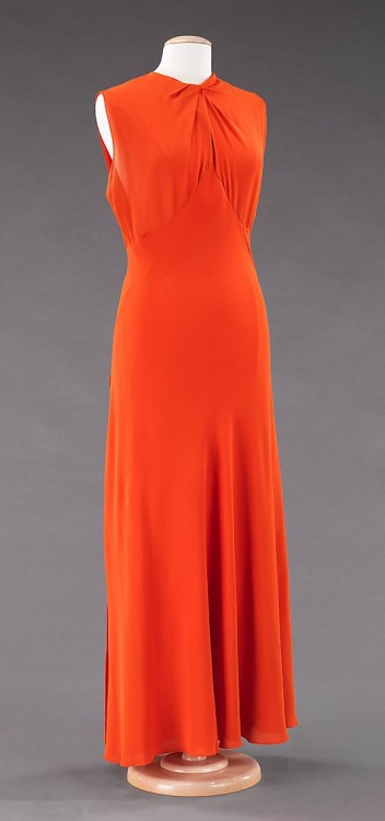 Dress Valentina, 1935 The Metropolitan Museum of Art