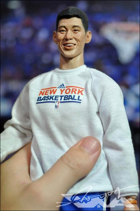Jeremy Lin has a new uncanny valley action figure. So life-like it stares at you from anywhere in a room. And it never stops staring … at you. Its been staring at me for so long I'm afraid to move. Isn't that cute? But seriously, I have not moved since 12:30 on Tuesday. It is in control now. Please send help. via Posting and Toasting