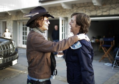 awesomepeoplehangingouttogether:  Johnny Depp and Paul McCartney