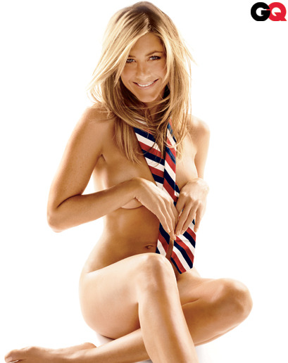 gq:  Jennifer Aniston Angelina may have the ring, but Jen still looks like this.
