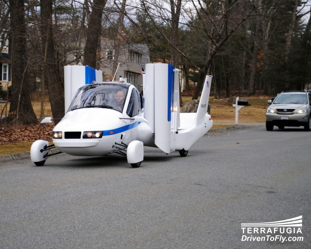 The Terrafugia Transition Flying Car