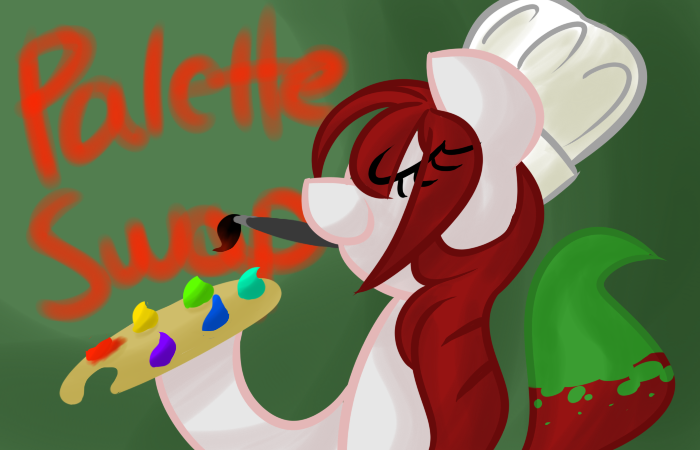 frostedwarlock:  My fourth Askblog fanart, more ponies! The reward for Best OC Pony goes to Ask Palette Swap! Go watch her do stuff.