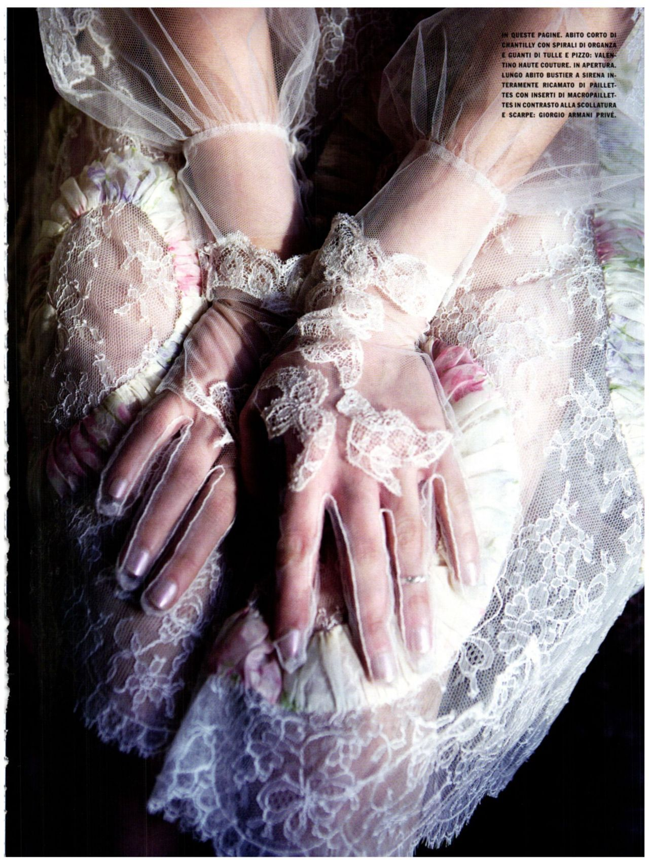 Vogue Italia March 2012, Gleaming Mermaid  Astrid Berges-Frisbey by Ellen Von Unwerth