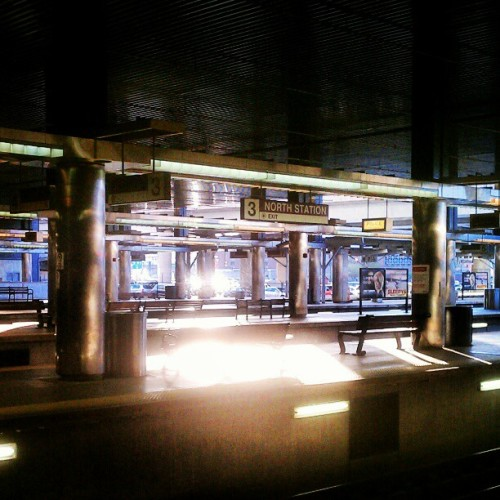 North Station (Taken with instagram)