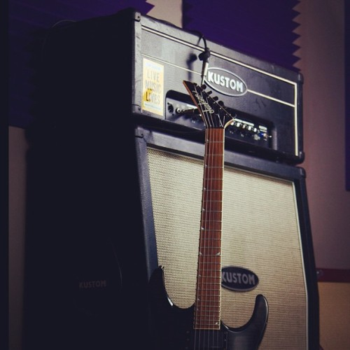 #studio #guitar #amp (Taken with instagram)
