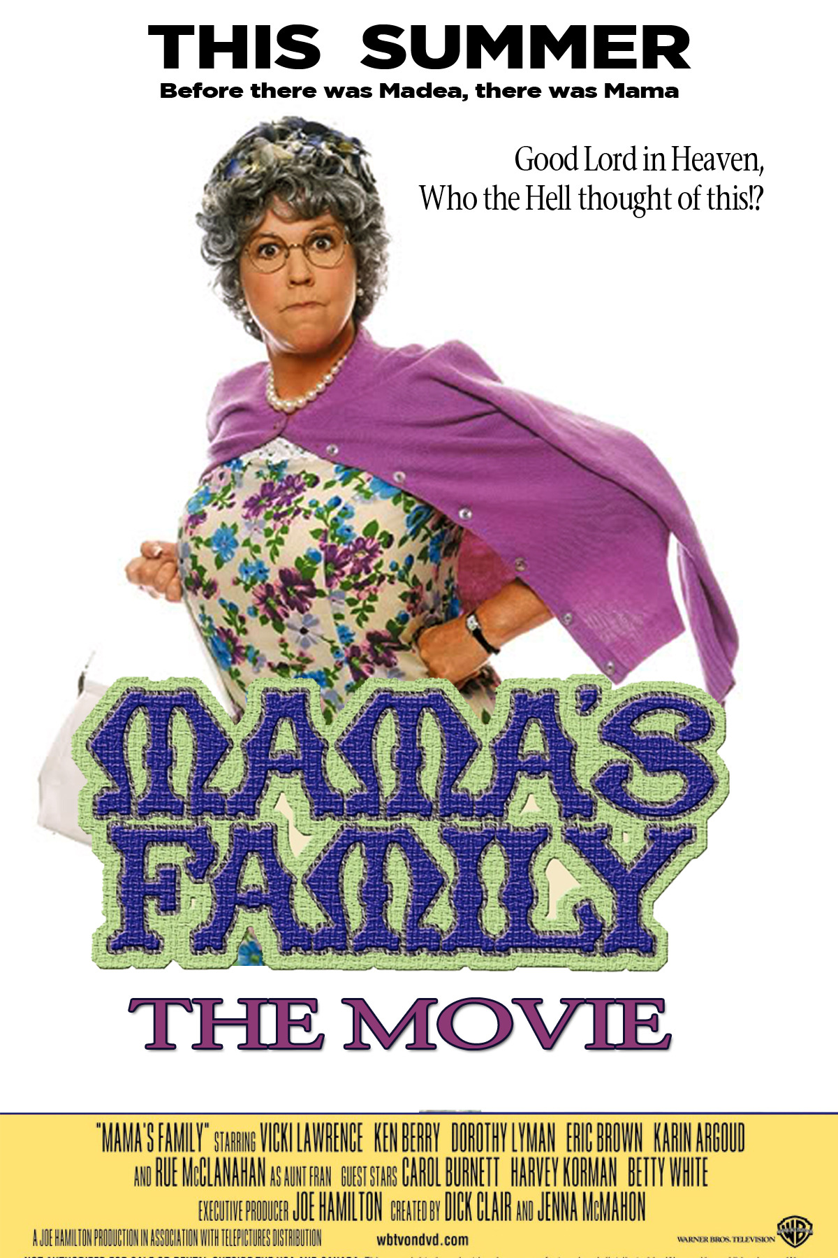 Before there was Madea…there was Mama. YESSS! I wanna see this!! LOL