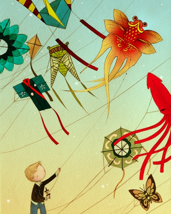 Kite Boy | Stasia Burrington
