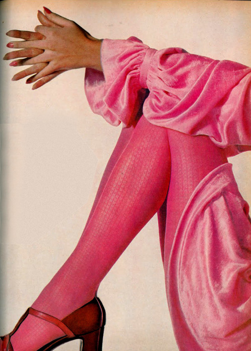 Pretty in pink (Photo by Irving Penn, 1970)
