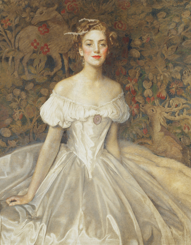Frank Cadogan Cowper - Portrait of Elizabeth Witts (1954)