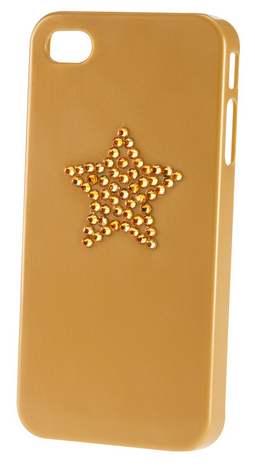 The gold star on my smartphone case is a metaphor for me being a star. H&M Smartphone Case - $3.95