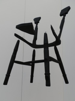SUBMISSION: Chris Alton, A Chair with All Points of Contact Removed, 2012
