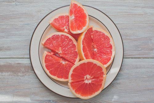 i have been loving grapefruit lately.