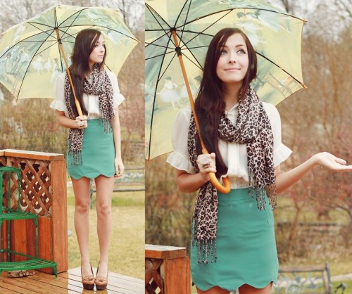 lookbookdotnu:  Rain, Rain, Please Stay (by Breanne S.)