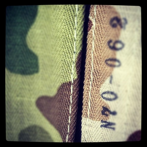 …reversible #camo #thehillside #japanesecotton scarf.  (Taken with instagram)