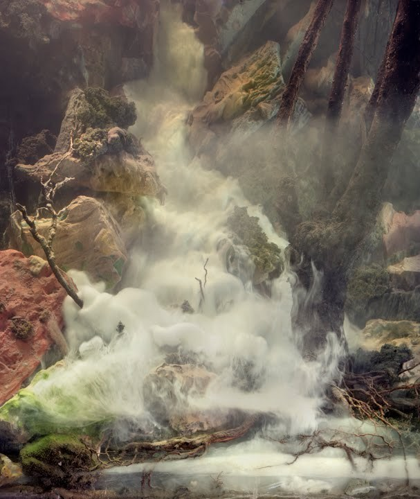 Kim Keever - Waterfall
