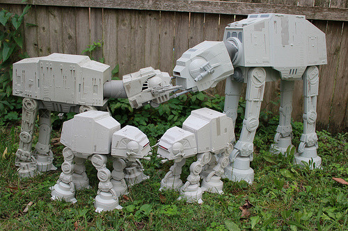 dbsw:  AT-AT Family Picture // by Tim Sutter