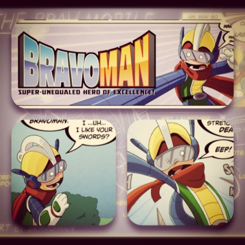 Adding the SUPER back 2 Hero!! #c2e2 #bravoman #namco #bandai #udon #arcade #games (Taken with instagram)