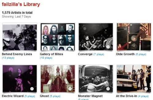 my last.fm for the week of 04.07.12 - 04.13.12
