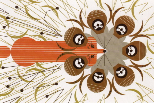 """Quailsafe"" by Charley Harper 