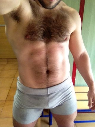 I love hot furry men in tight shorts!