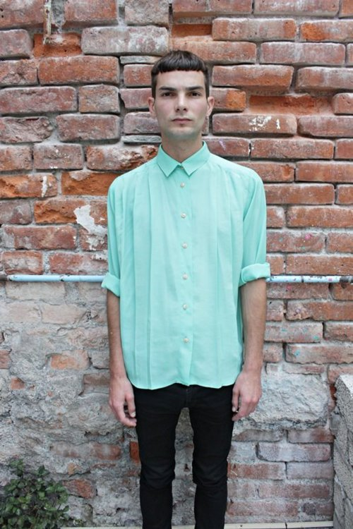 ohjulianzerega:  Mint Shirt