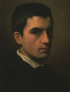 Self Portrait (1850) by Léon Bonnat 1% of humanity possesses 99% of the beauty. And the talent. Damn.