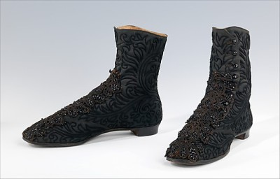1865–75 shoesofhistory:  (via The Metropolitan Museum of Art - Boots)