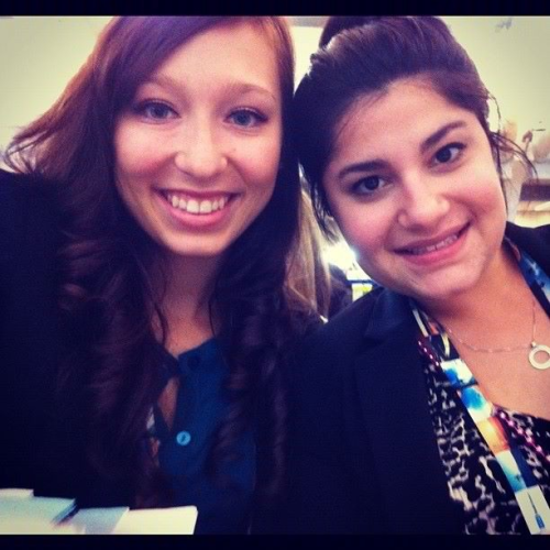 In the House of Delegates with my best fran :)