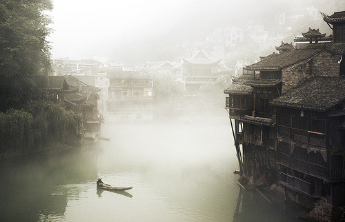 Fenghuang Fog (photo by Ed Tse). That's one place I really really want to visit. One day. Maybe. And when you travel: all this wordly wisdom.