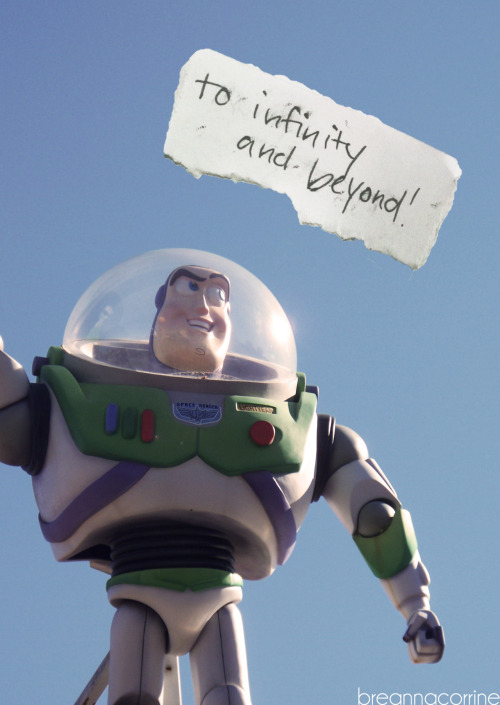 to infinity and beyond!  taken above Pizza Planet in Disney Hollywood Studios