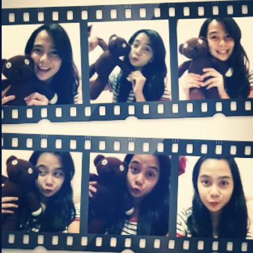 with Mr.Bean's teddy 😍😘 #instagram #instagood #teddy  (Taken with instagram)