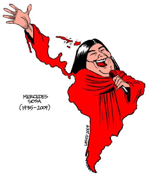 Mercedes Sosa, a voz da América