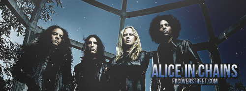 Alice In Chains 1 Facebook Cover