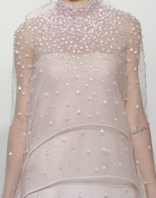 coffee-and-fashion-magazines:  Freja Beha, Valentino Couture F/W 2010