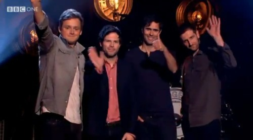 Keane on Graham Norton Show 13th april