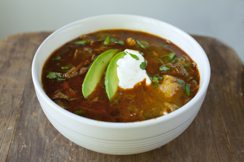 gastrogirl:  chile verde roasted pork stew.
