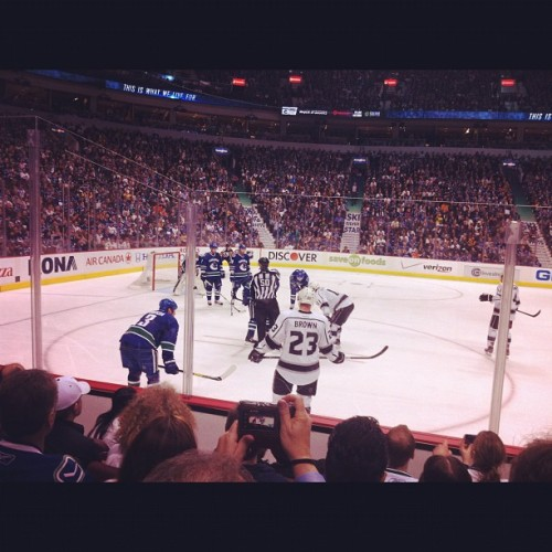Let's go boys #canucks  (Taken with instagram)