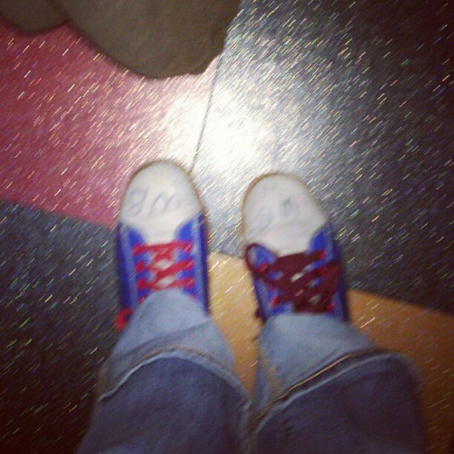 I am terrible at bowling. MARK IT ZERO (Taken with instagram)