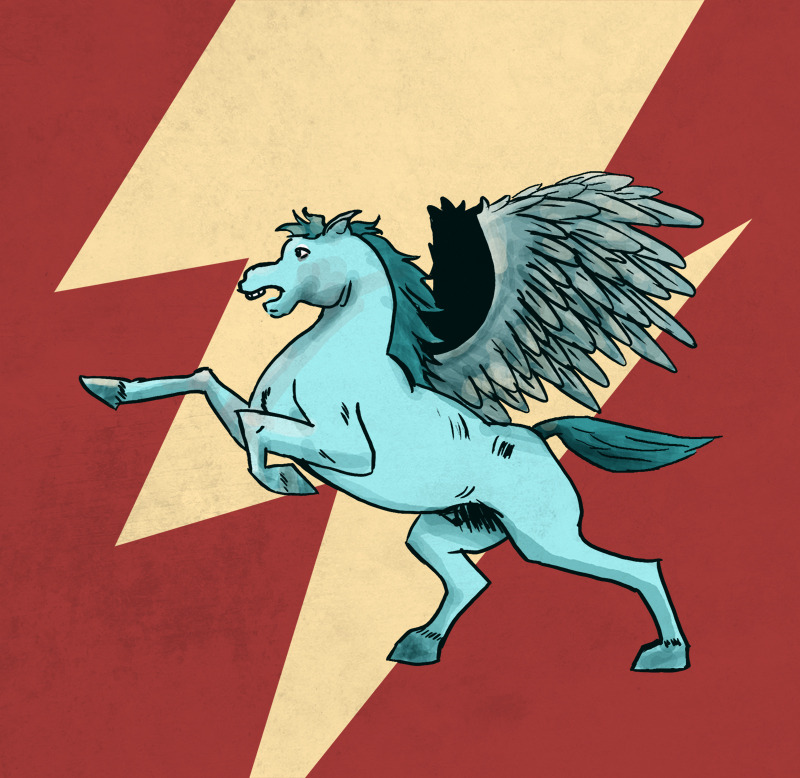 I wasn't sure I was going to do a Pegasus, but what the hell.