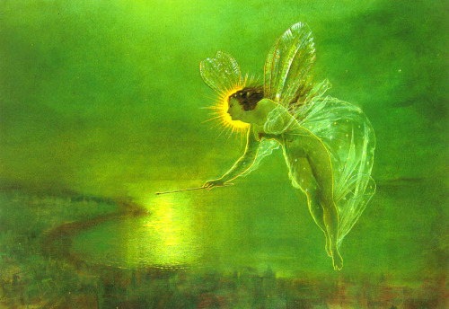 Spirit of the night - John Atkinson Grimshaw, 1879