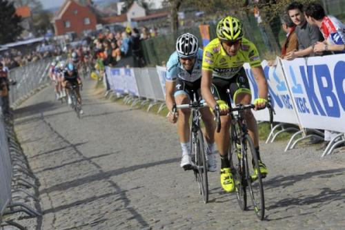 2012 Ronde van Vlaanderen: Tommeke will not allow Pippo to be the one to ride over his record-breaking ambitions. (Credit:Roberto Bettini via Cyclingnews.com)