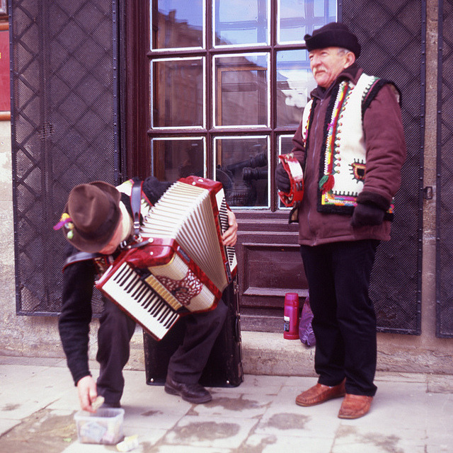 | ♕ |  Old Town musicians - Lviv, Ukraine  | by © Kirill Mo