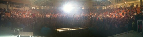 Tonight's show in Buies Creek, NC with Switchfoot was amazing.