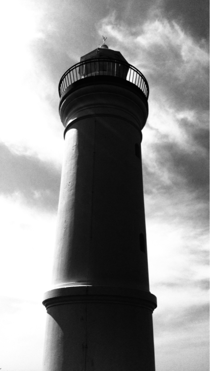 Lighthouse at the Blowhole, Kiama, NSW, AU.